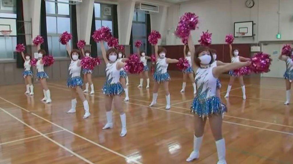Las Japan Pom Poms, las animadoras jubiladas japonesas