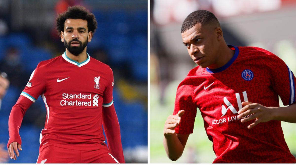 El PSG comienza las negociaciones para fichar a Salah: dan por perdido a Mbappé