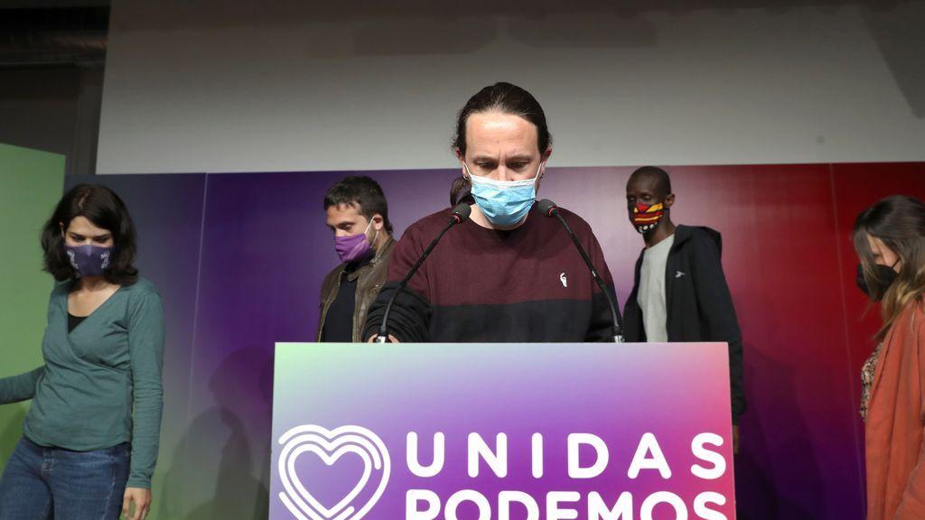 Las reacciones políticas a la marcha de Pablo Iglesias