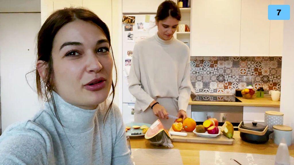 Estela Grande prueba la fruta por primera vez en su vida y reacciona a sus sabores (1/2)