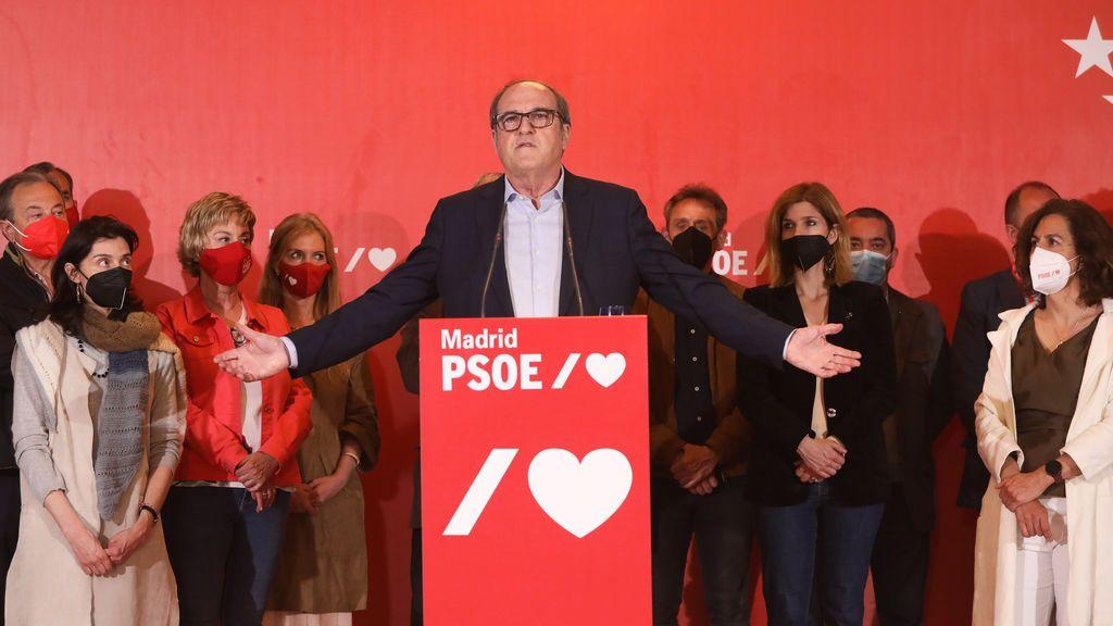 Ángel Gabilondo cosecha los peores resultados para el PSOE en Madrid
