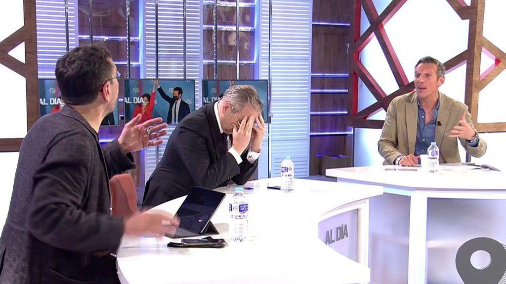 """Joaquín Prat choca con Juan Carlos Monedero: """"Lo que tenéis que hacer es dar soluciones, que para eso os pagan"""""""