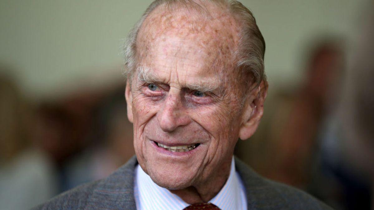 """El duque de Edimburgo murió debido a su """"avanzada edad"""", según el certificado de defunción"""