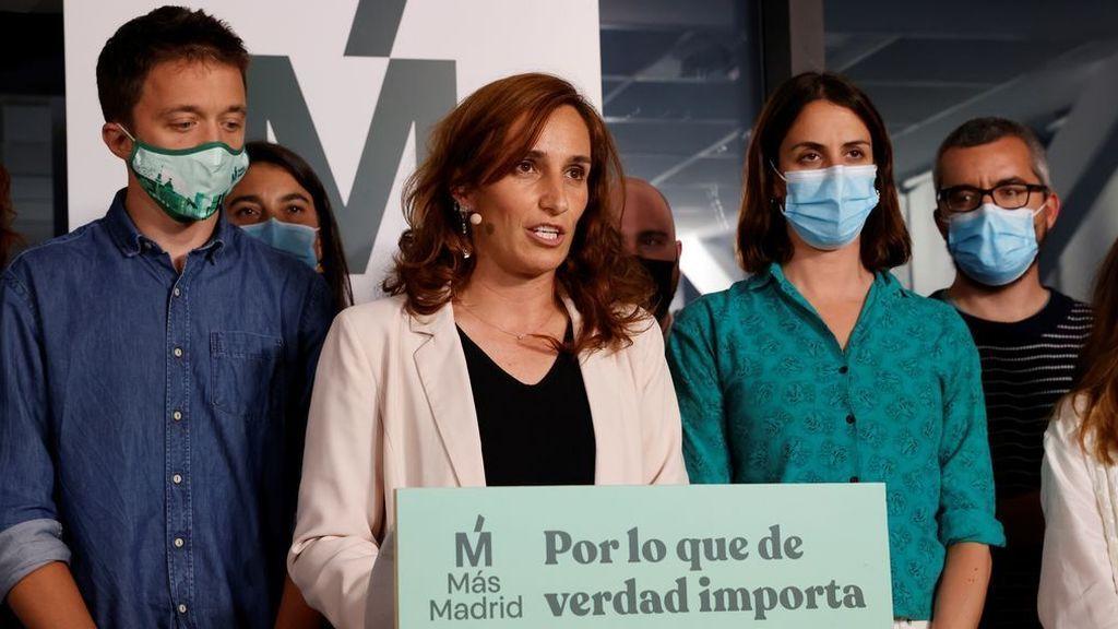'Sorpasso' de Más Madrid al PSOE, Mónica García se convierte en la líder de la oposición