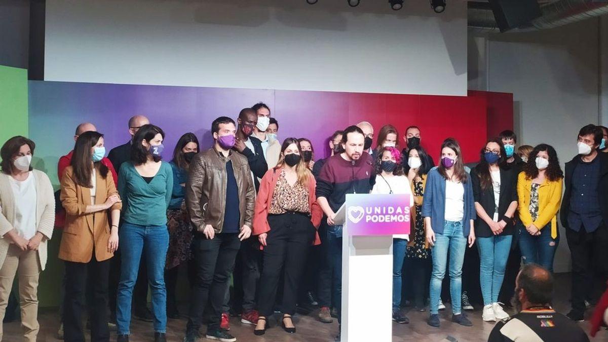 La Ejecutiva de Podemos dirigirá la formación hasta el próximo Vistalegre