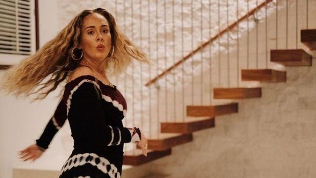 Adele comparte nuevas fotos de su cambio de imagen: la artista cumple 33 años