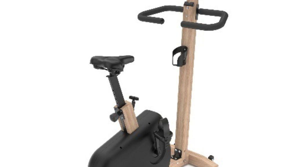 Decathlon pondrá a la venta una bici estática ecológica de madera