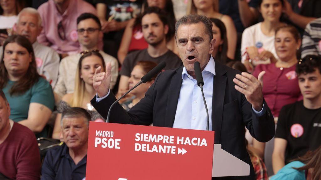 José Manuel Franco dimite como secretario general del PSOE-M tras la debacle electoral del 4M