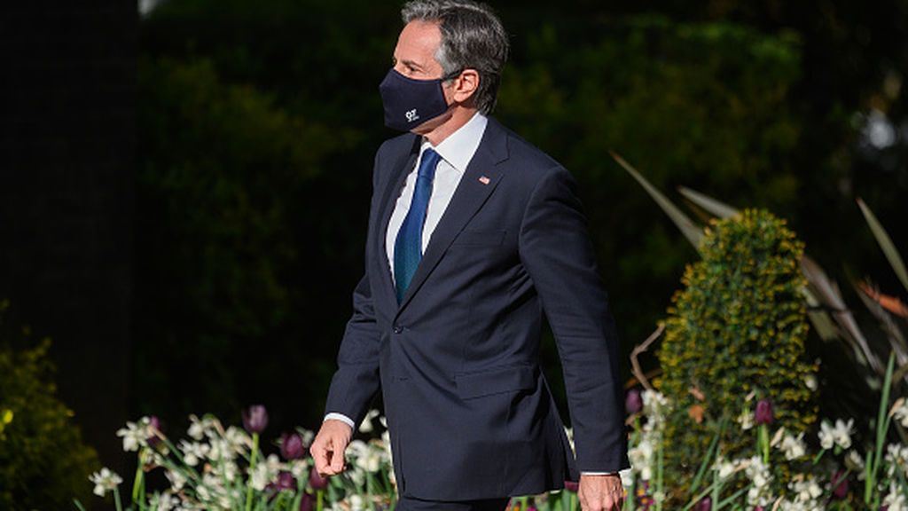 """Antony Blinken reafirma el apoyo de Estados Unidos a la """"soberanía e integridad"""" de Ucrania"""