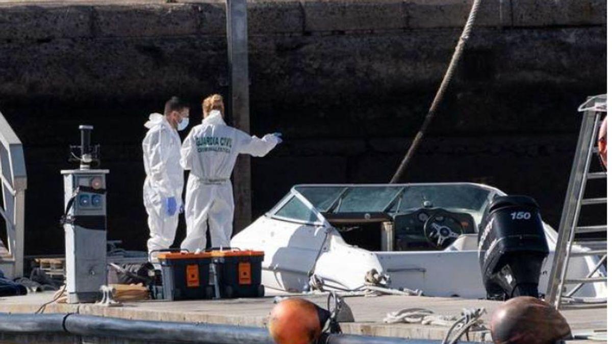 La hipótesis más negra:  un sonar radiografía el fondo del mar para encontrar pistas de Anna y Olivia