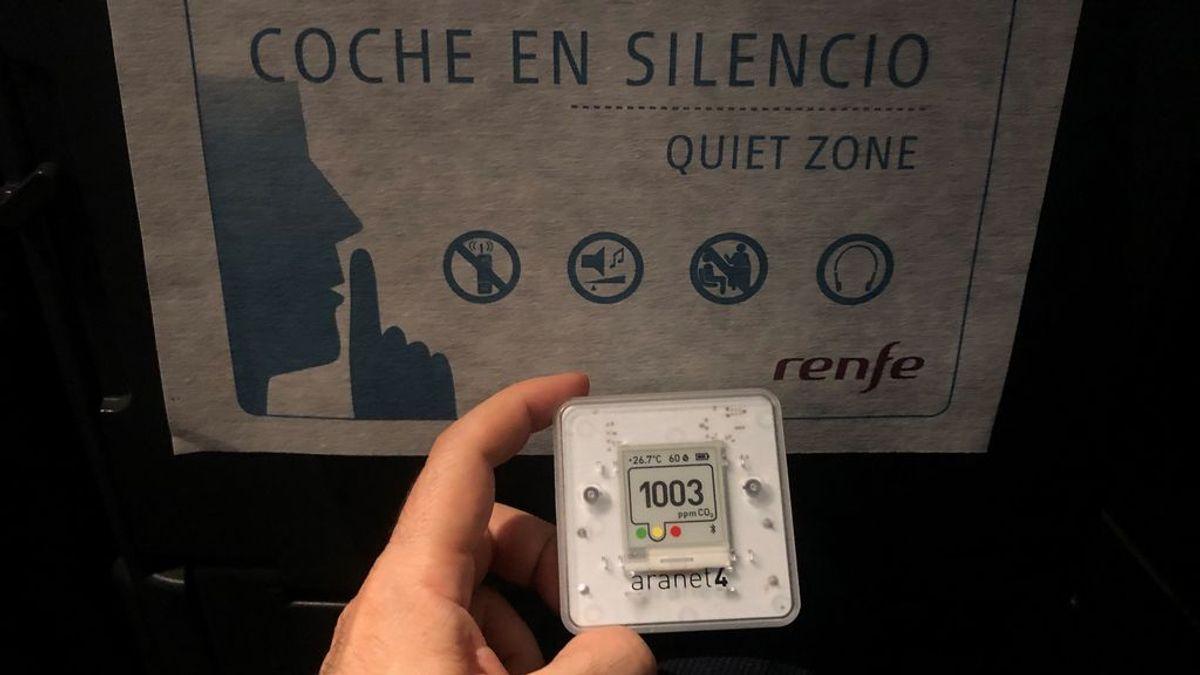 Medidores de CO2, una opción barata para saber si hay coronavirus en el aire que respiramos