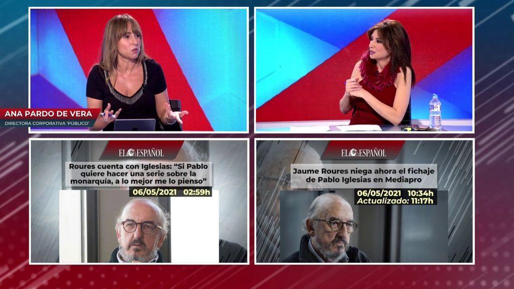 Roures no tiene ningún proyecto con Pablo Iglesias