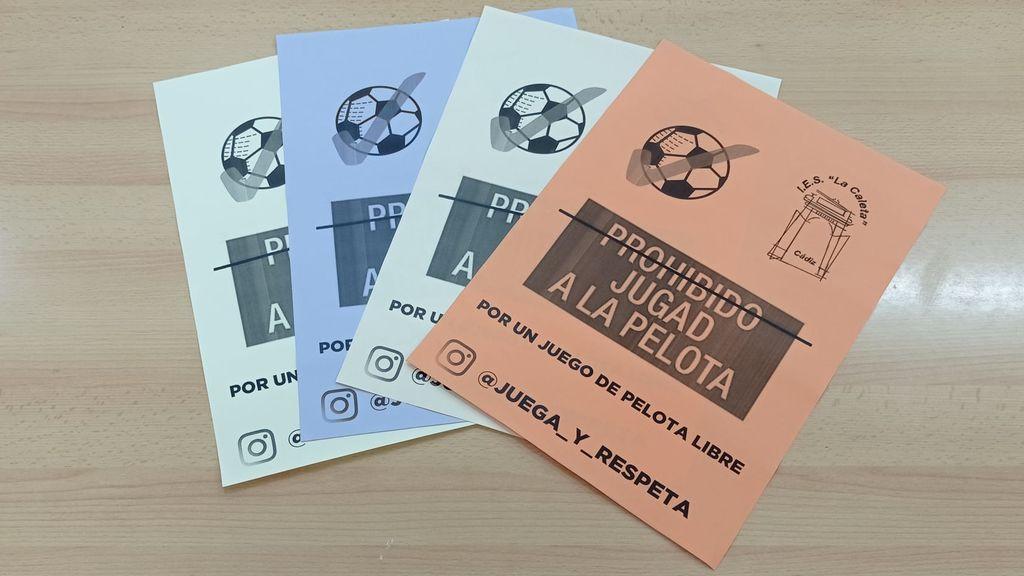 Los carteles alternativos de los alumnos del IES La Caleta