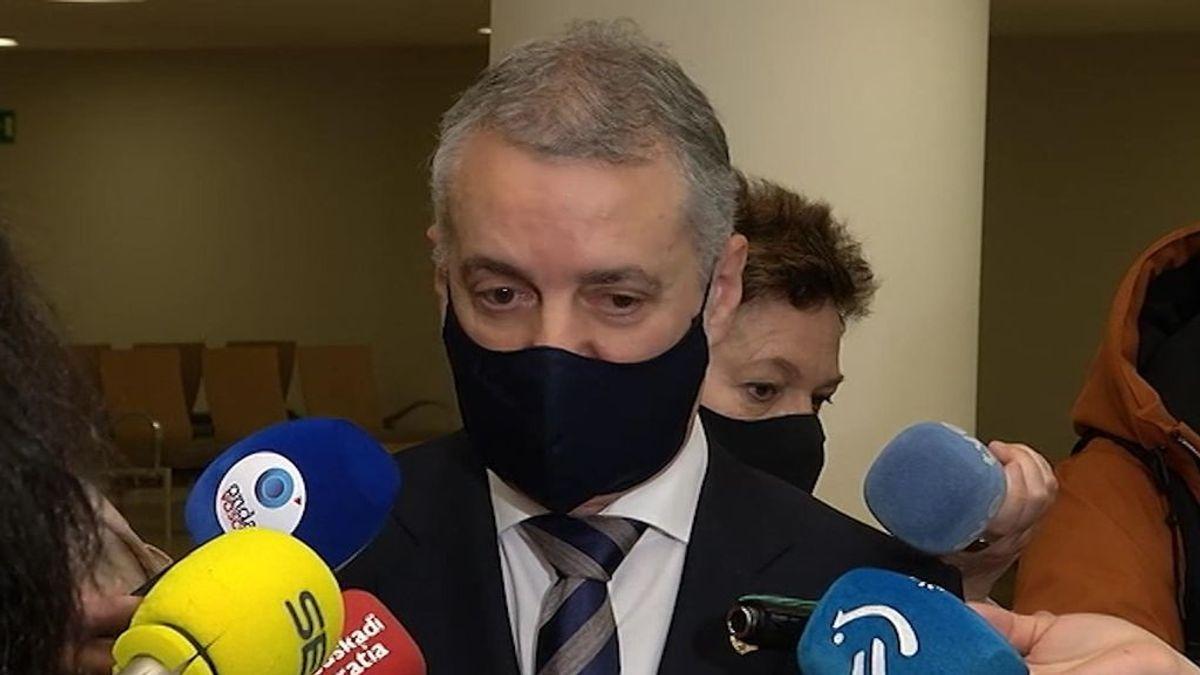 borrador. El Lehendakari sume que sin aval judicial no habrá cierre perimetral ni toque de queda en euskadi