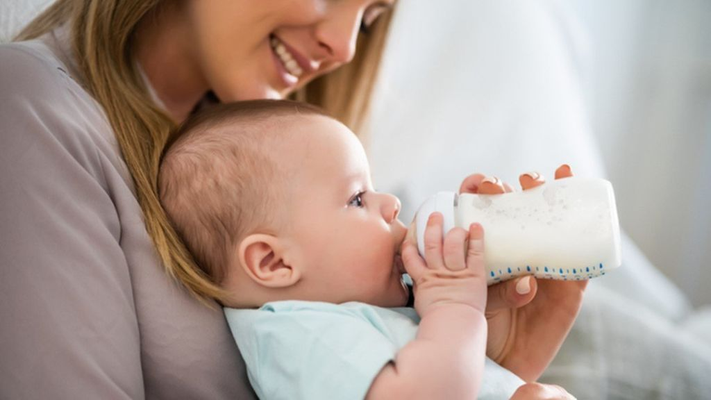 Special milks will be recommended for those children with allergies.