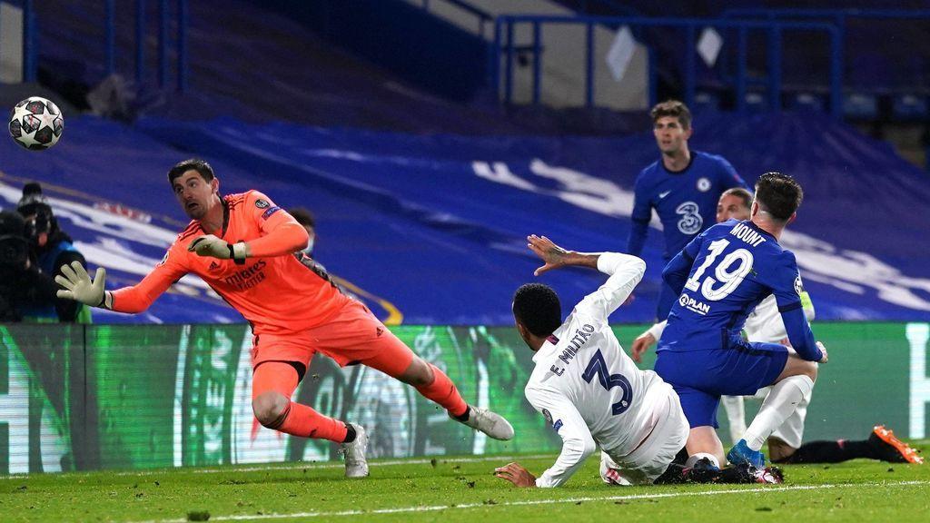 El Madrid perdió por 2-0 en Stamford Bridge.