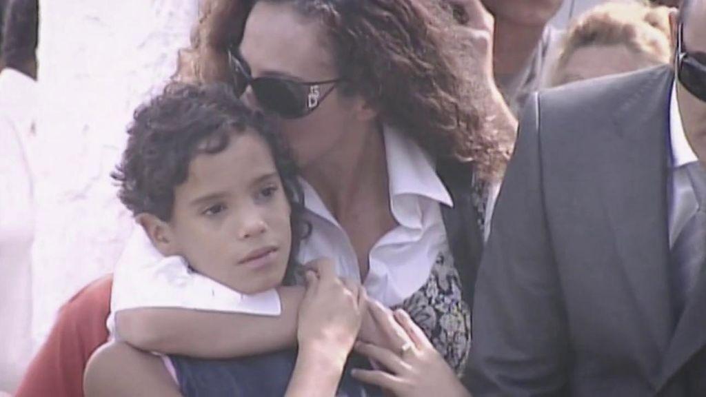 Rocío Carrasco y Gloria Camila Ortega, en un homenaje a Rocío Jurado