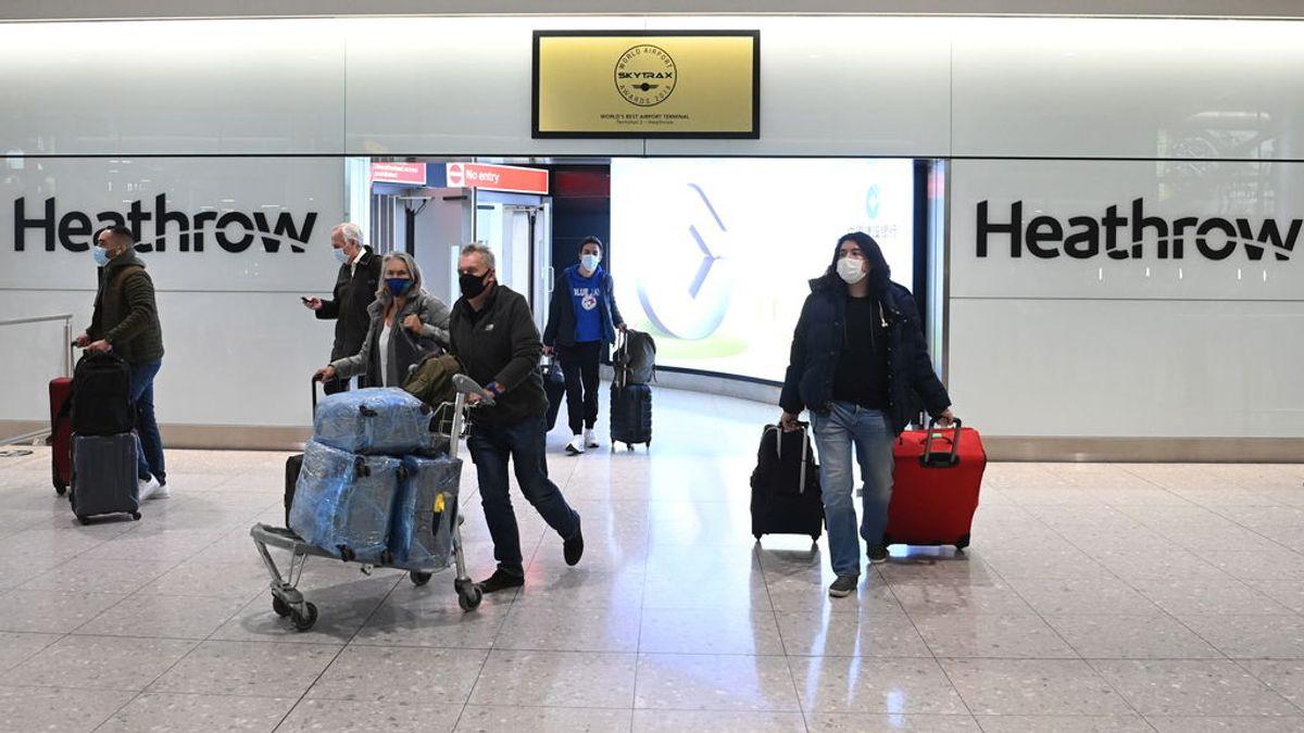 Última hora del coronavirus: Reino Unido excluye a España de la lista verde para viajar al extranjero