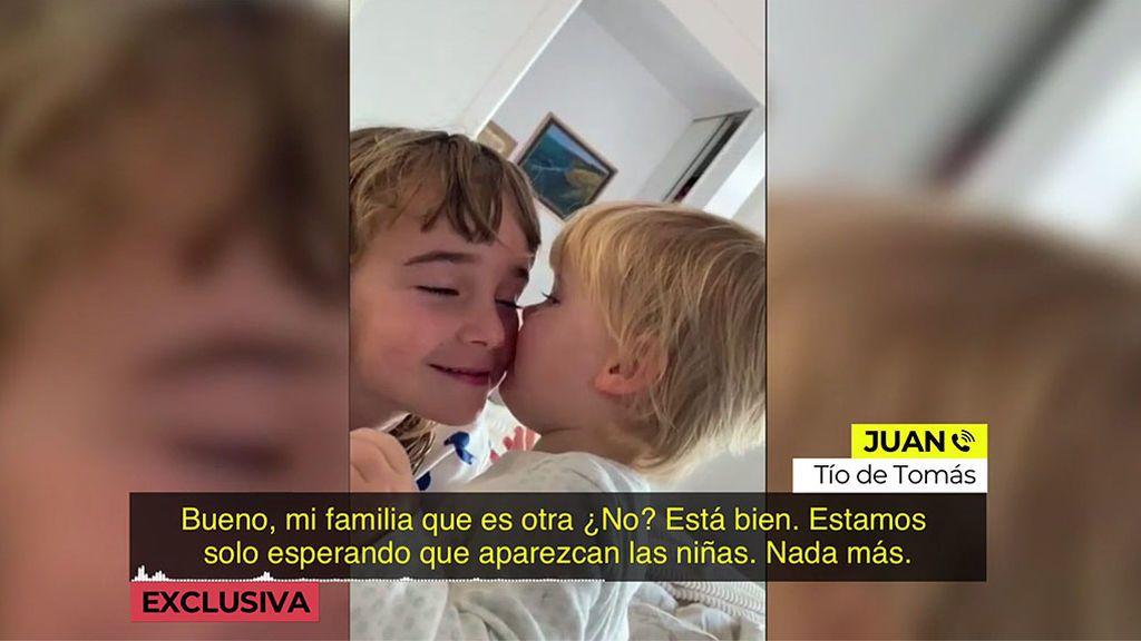 """'Ya es mediodia' habla en exclusiva con el tío de Tomás Gimeno: """"Estamos esperando a que aparezcan"""""""