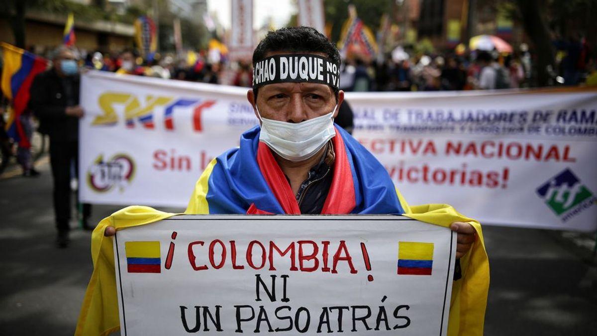 """Protestas en Colombia: """"La reforma solo hizo explotar la chispa del descontento que ya estaba ahí"""""""