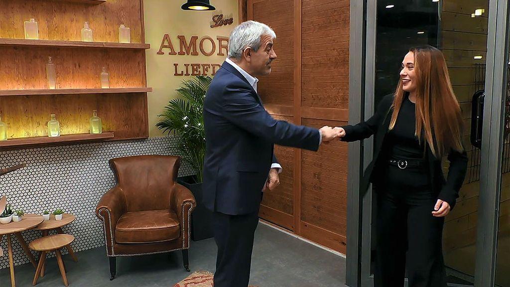 """Carlos Sobera, a Marina: """"¿Quieres que te presente al futuro presidente del estado Español?"""""""