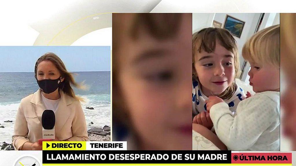 El desesperado llamamiento de la madre de Ana y Olivia