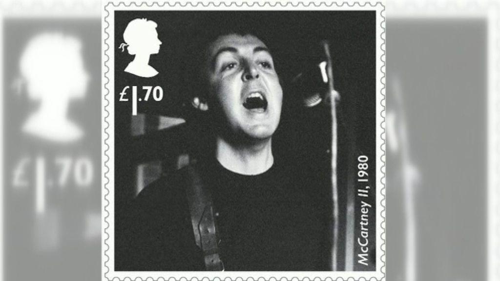 The Royal Mail rinde homenaje a Paul McCartney con una colección de sellos