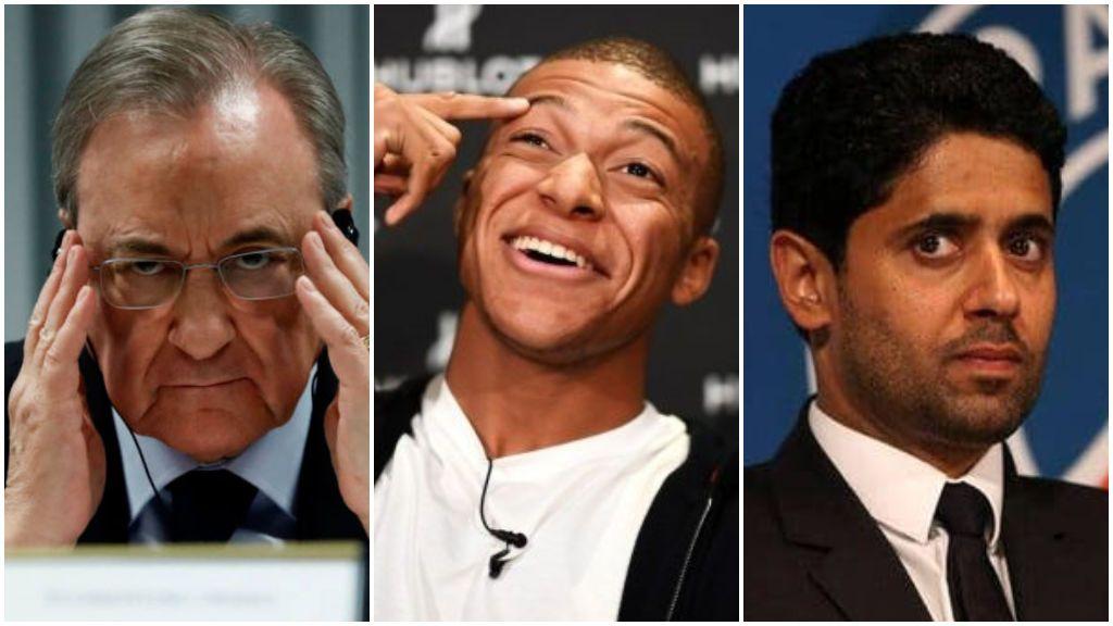 Mbappé mantiene su deseo de jugar en el Real Madrid pero quiere una 'guerra' con el Paris Saint Germain