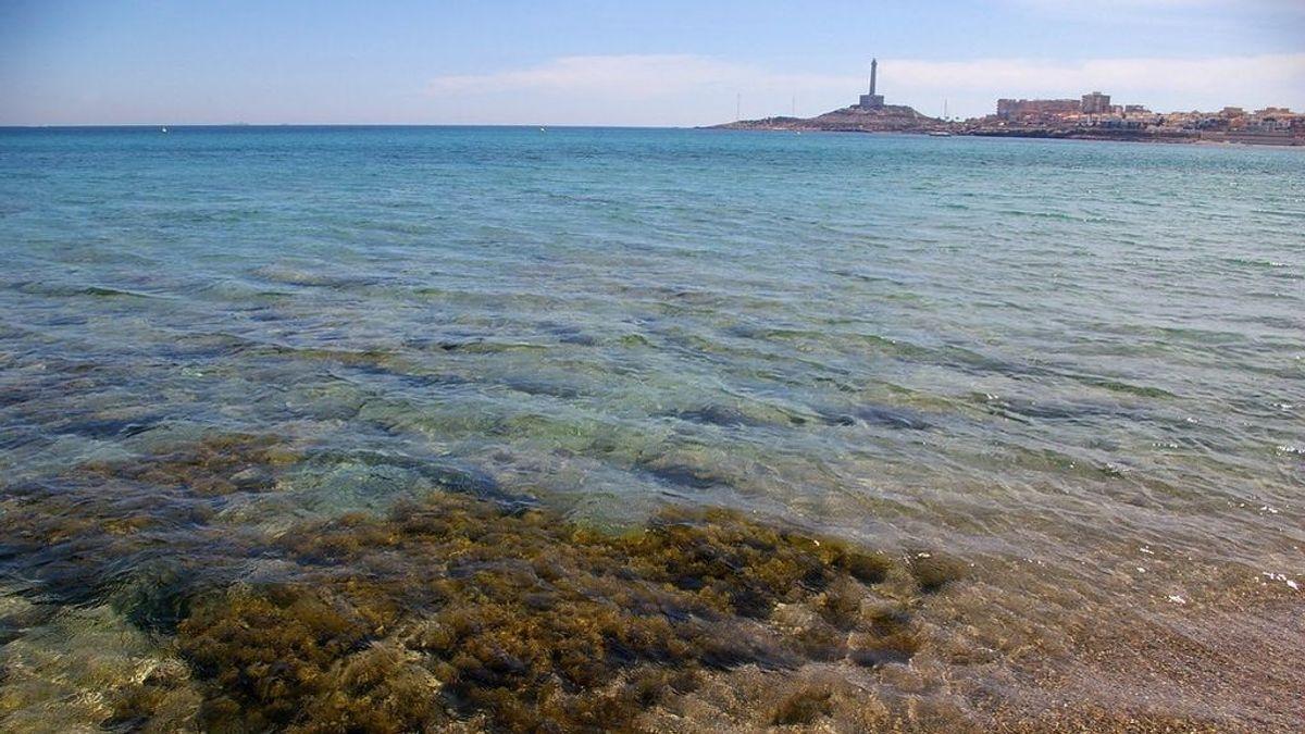 Una avioneta cae al mar en aguas de Cabo de Palos