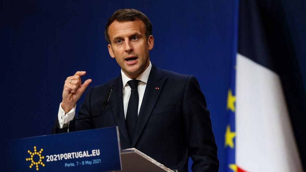 Macron pide a EE.UU. acabar con la prohibición de exportar vacunas y componentes