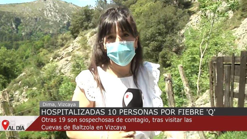 Diez hospitalizados por posible 'fiebre' Q y otros 19 identificados, tras visitar las cuevas de Baltzola (Vizcaya)
