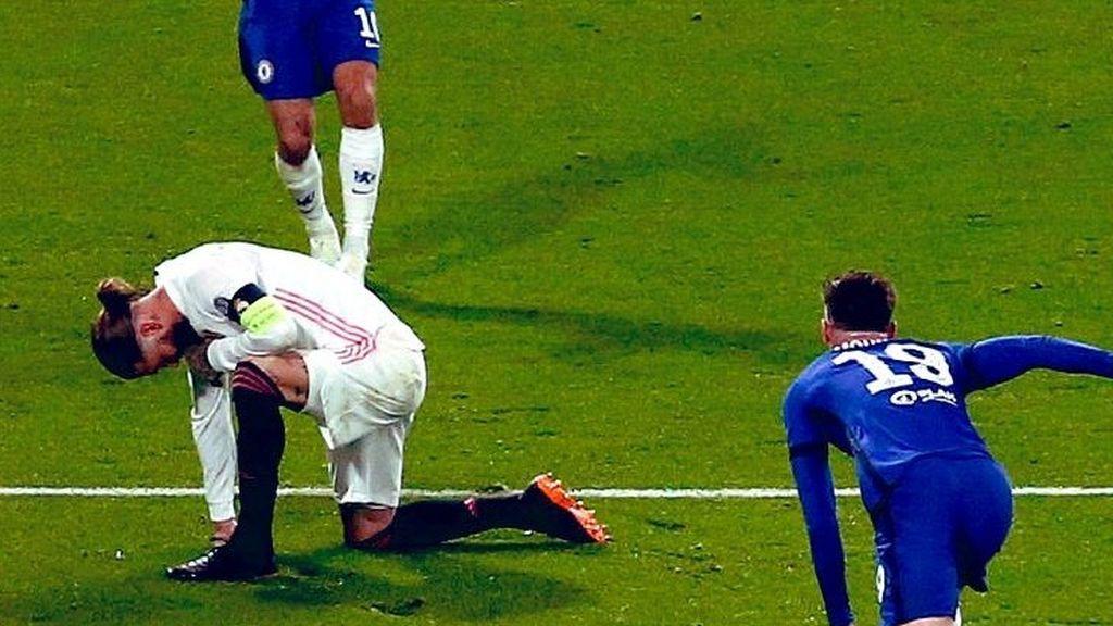 Sergio Ramos se vuelve a lesionar y peligra su final de temporada con el Madrid