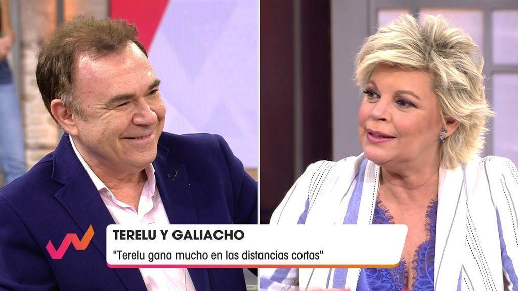 Juan Luis Galiacho y Terelu avanzan en su romance