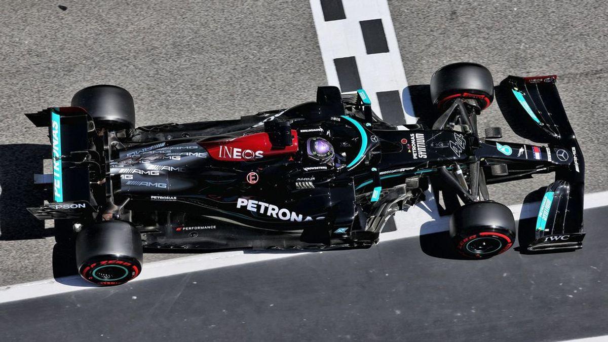 Lewis Hamilton, 100 'poles' y camino a su octavo título mundial