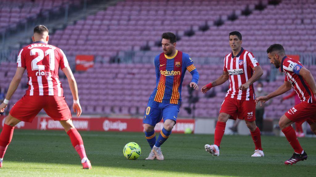 Barça y Atleti no pasan del 0-0 y le meten mordiente a La Liga