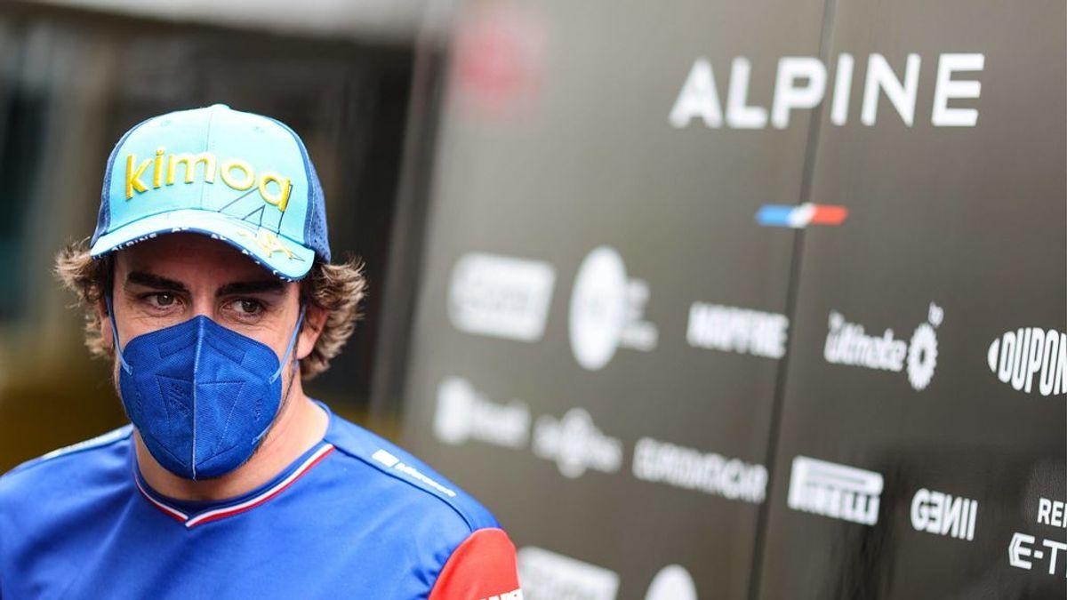 """El objetivo de Alonso de cara a la carrera de Montmeló: """"Habrá que intentar consolidar esas posiciones de puntos"""""""
