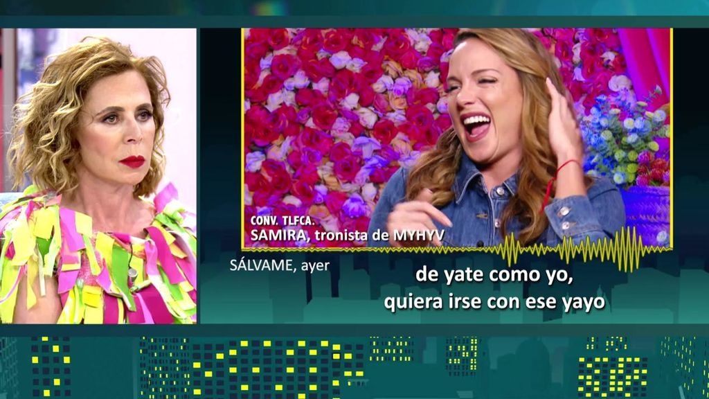 Ágatha Ruiz de la Prada habla sobre Samira