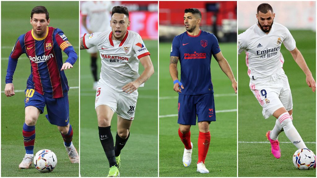 La lucha por La Liga se aprieta: así es el calendario de Madrid, Barcelona, Atleti y Sevilla en las tres última jornadas