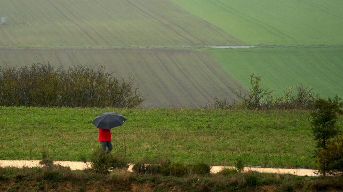 Las temperaturas bajan el lunes en casi toda España y las lluvias afectarán al sudeste y norte peninsular