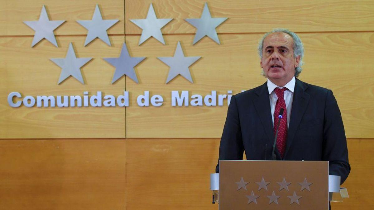 La Comunidad de Madrid aplica restricciones desde mañana en 14 zonas que concentran 351.776 personas