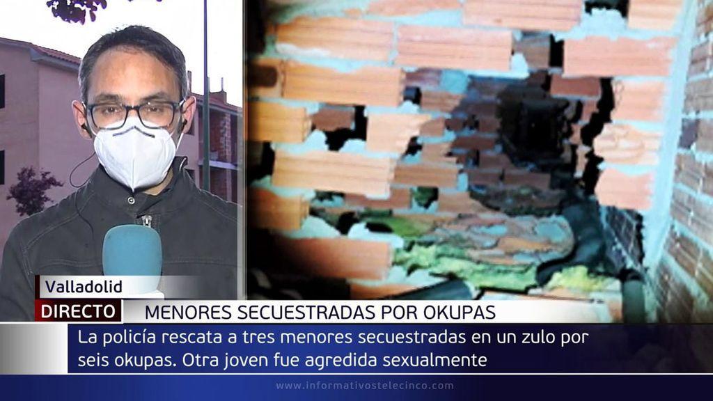 La denuncia de una menor por una agresión sexual destapa un zulo con 4 chicas escondidas en Valladolid