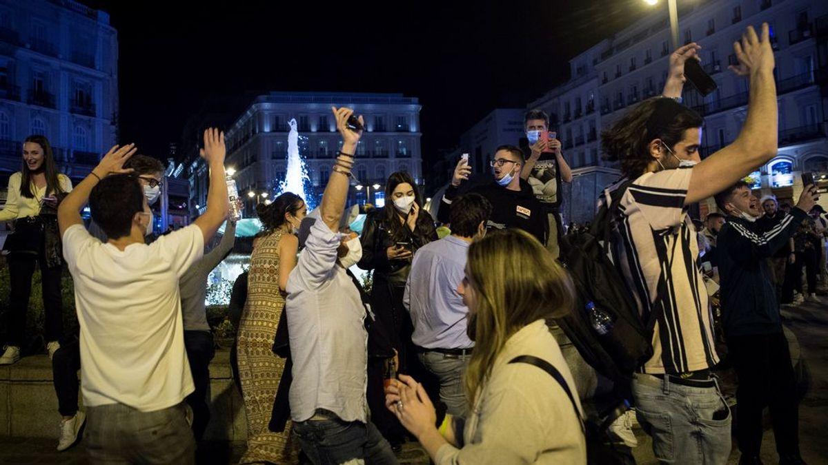 De Ponzano a Malasaña: estallido juvenil en Madrid por el fin del estado de alarma