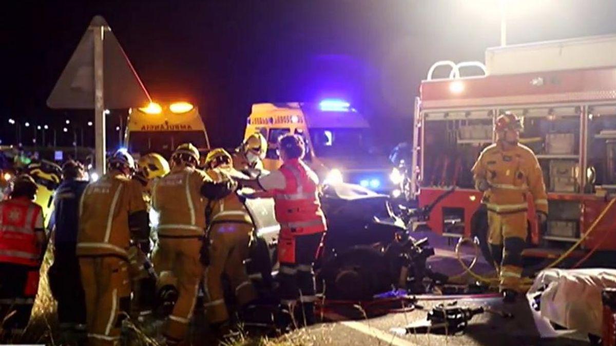 Mueren dos jóvenes de 18 y 19 años en un grave accidente de tráfico en Palma