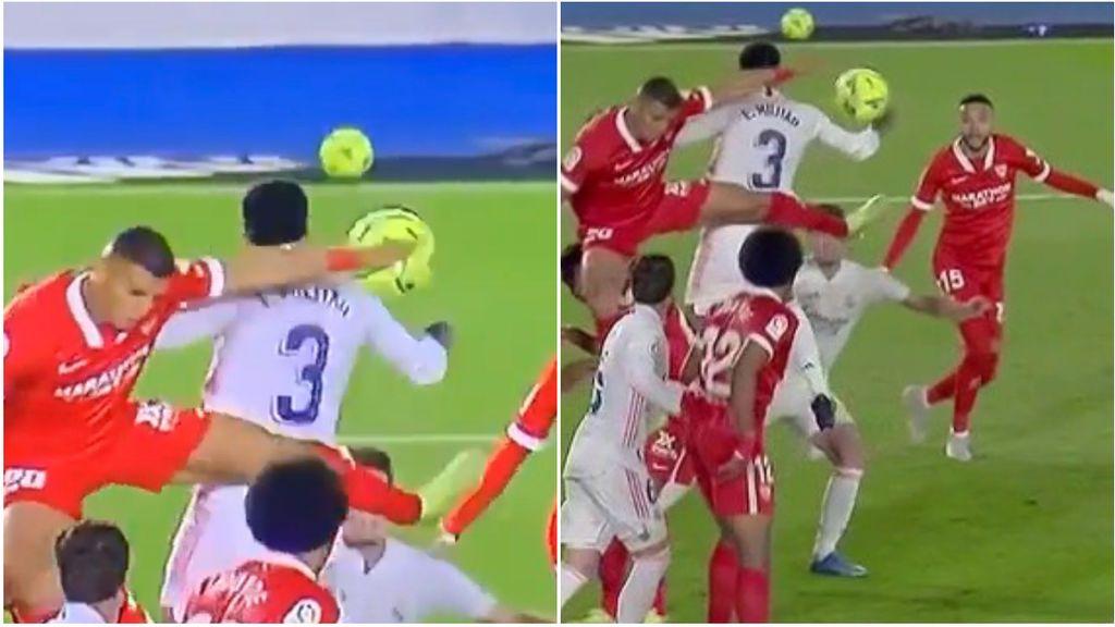 La jugada polémica del Madrid-Sevilla que puede valer una Liga