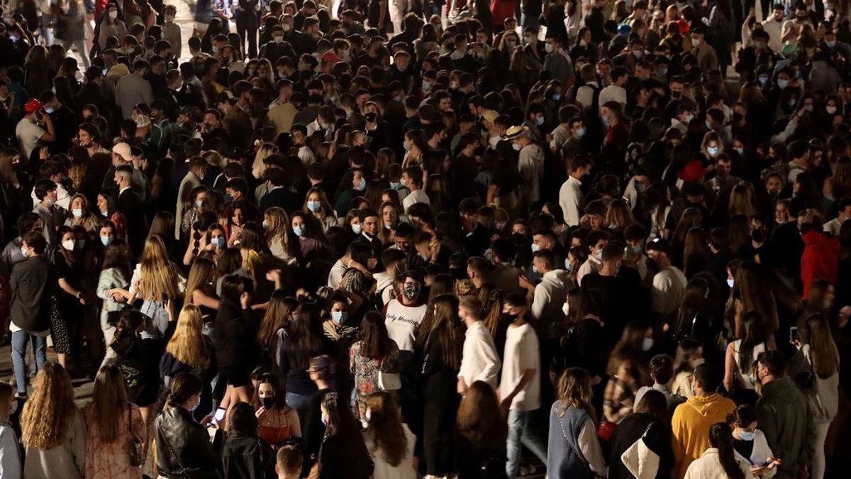 Botellones, agresiones, fiestas y disparos para 'celebrar' el fin del Estado de Alarma en Castilla y León