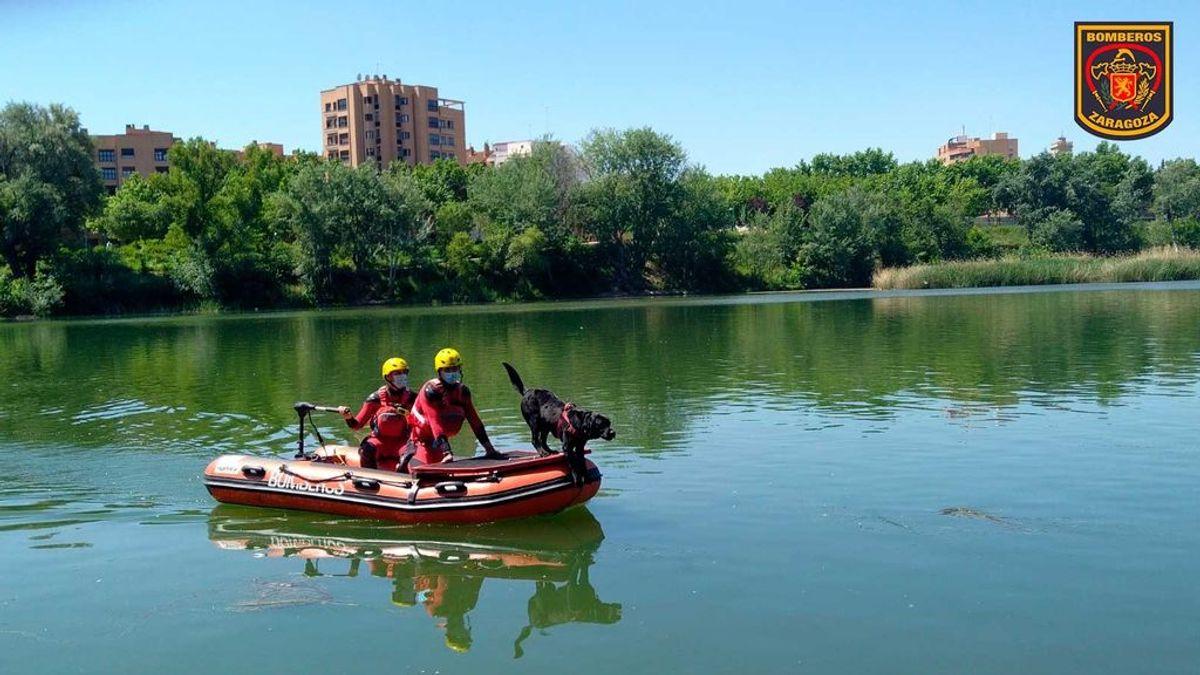 Los bomberos buscan a un menor de 13 años desaparecido en el río Ebro mientras se bañaba con un amigo