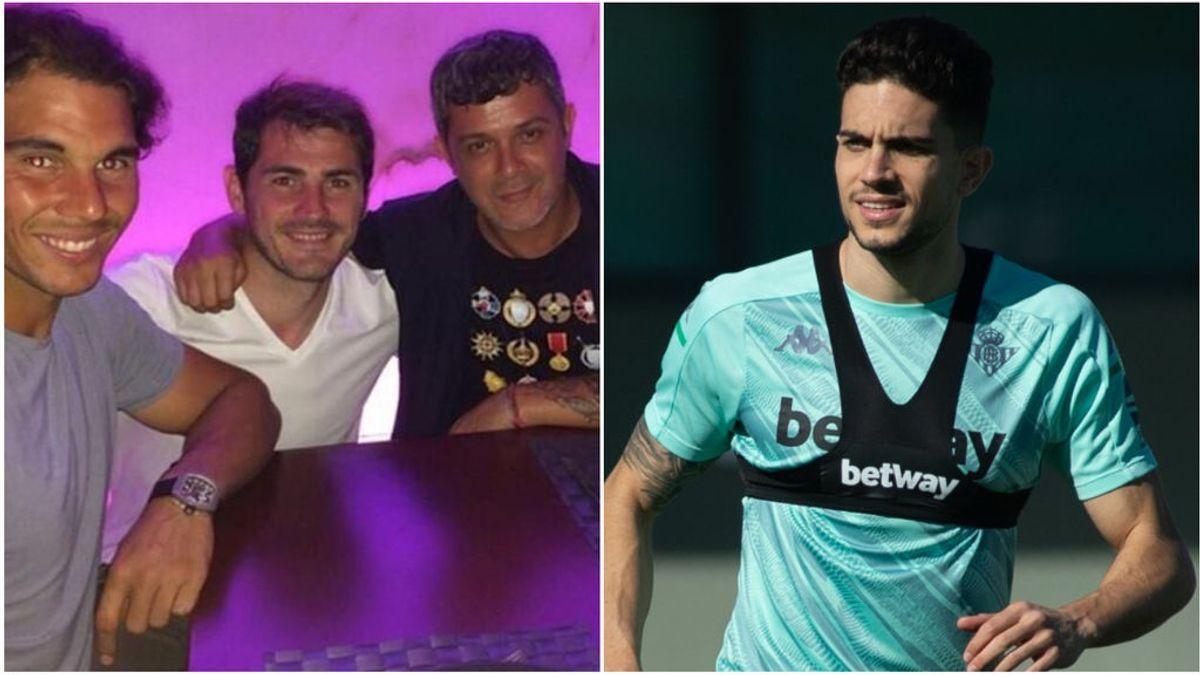 """Marc Bartra vuelve a la carga contra Iker Casillas y le vacila una vez más: """"Seguro que el del medio no pagó la cena"""""""