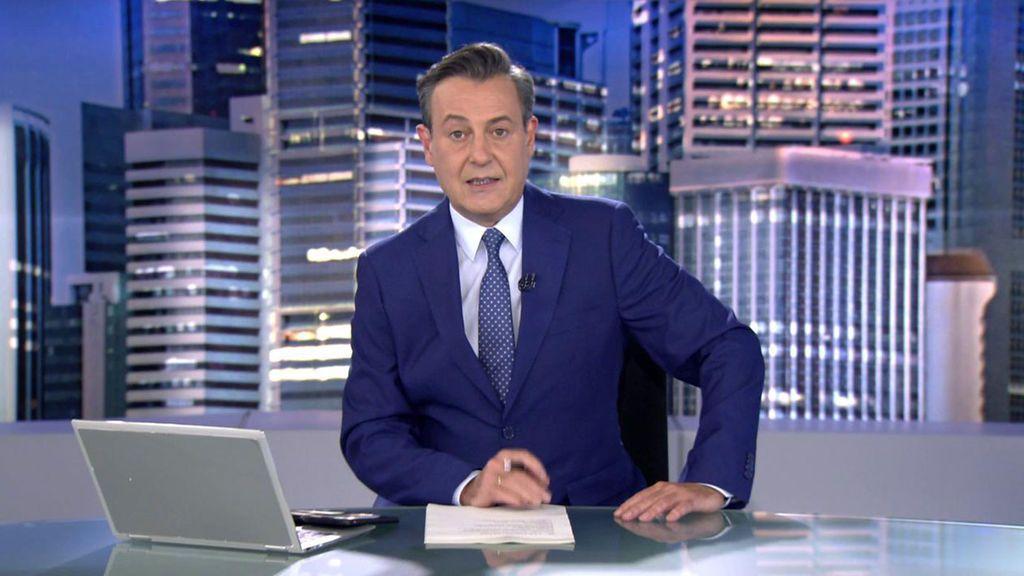 Con José Ribagorda Informativos Telecinco 2021 Noche 09/05/2021
