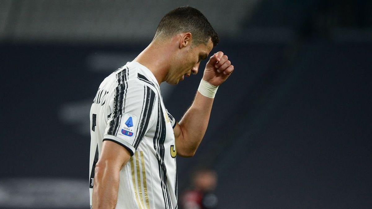 Cristiano Ronaldo no hizo un gran partido ante la Juventus.