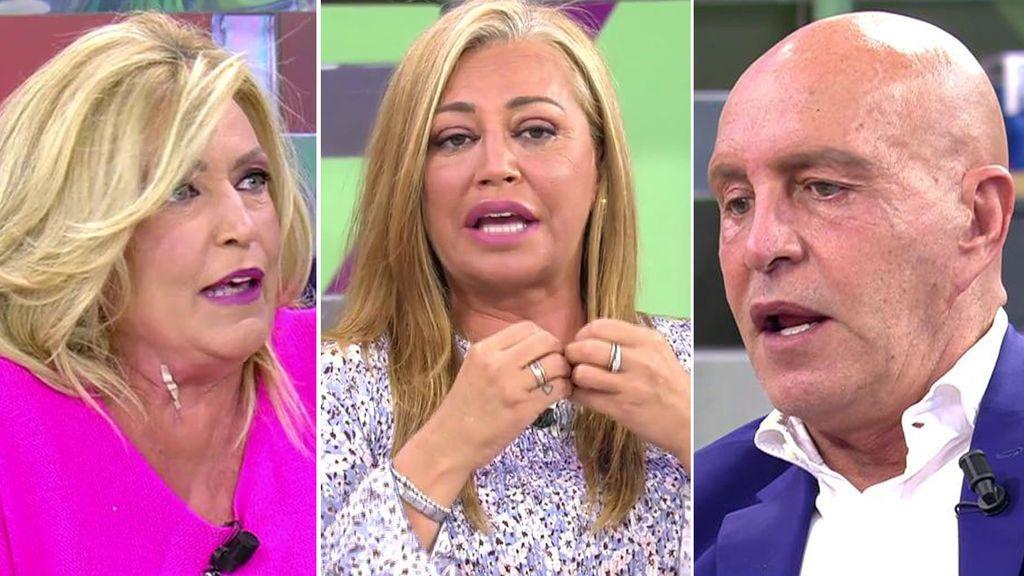 Las reacciones de los colaboradores al conflicto de Rafa Mora y Anabel